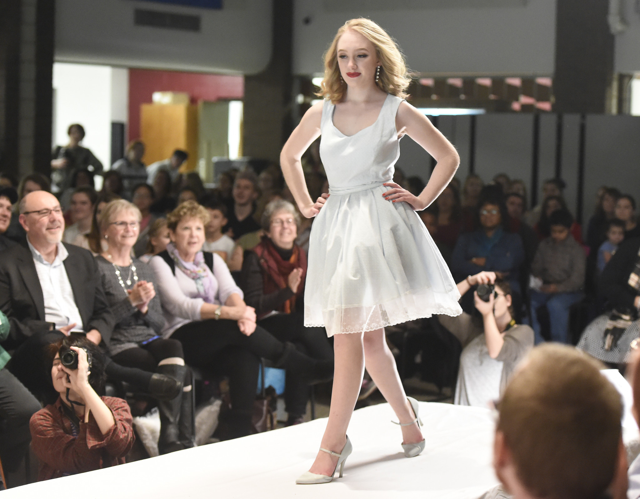 The Carroll County Career And Technology Center Textiles And Fashion Careers Class S Fashion Show Chicago Tribune