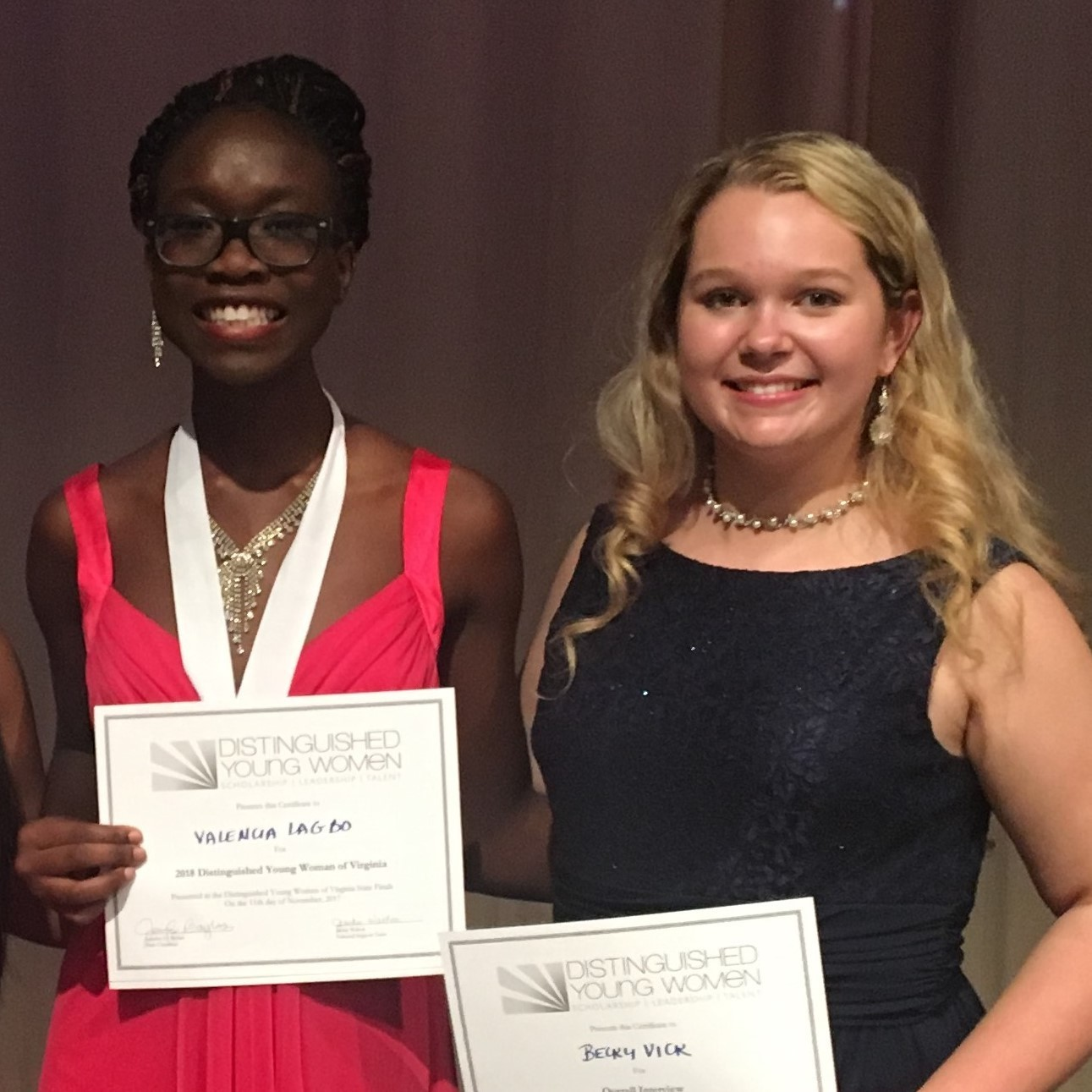 York County Student Wins State Distinguished Young Women ...