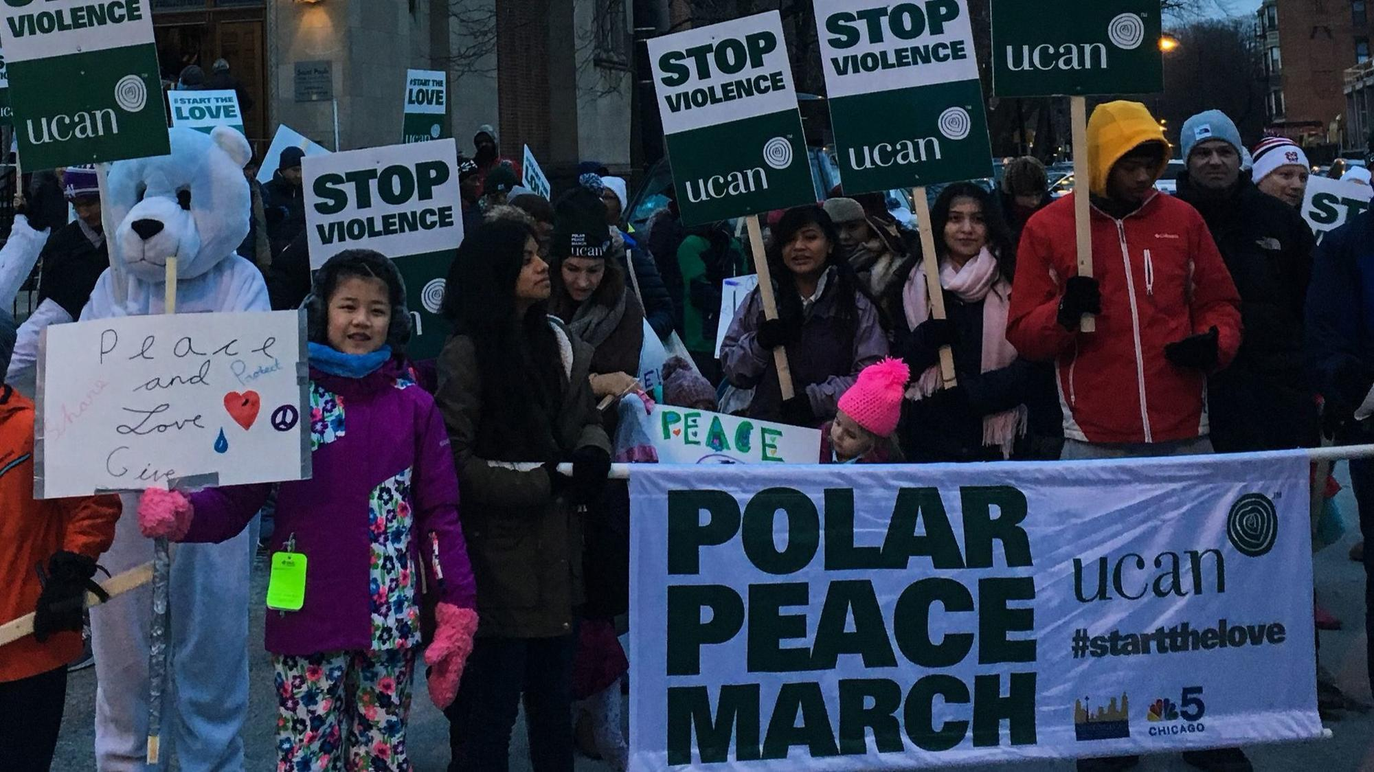 Chicago church holds march on eve of MLK Day: 'It's ...March For Peace Chicago