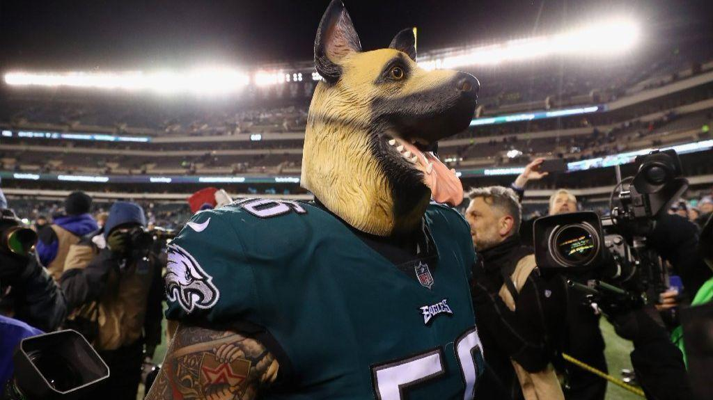 size 40 5c954 d72aa What's the deal with those dog masks Eagles players are ...