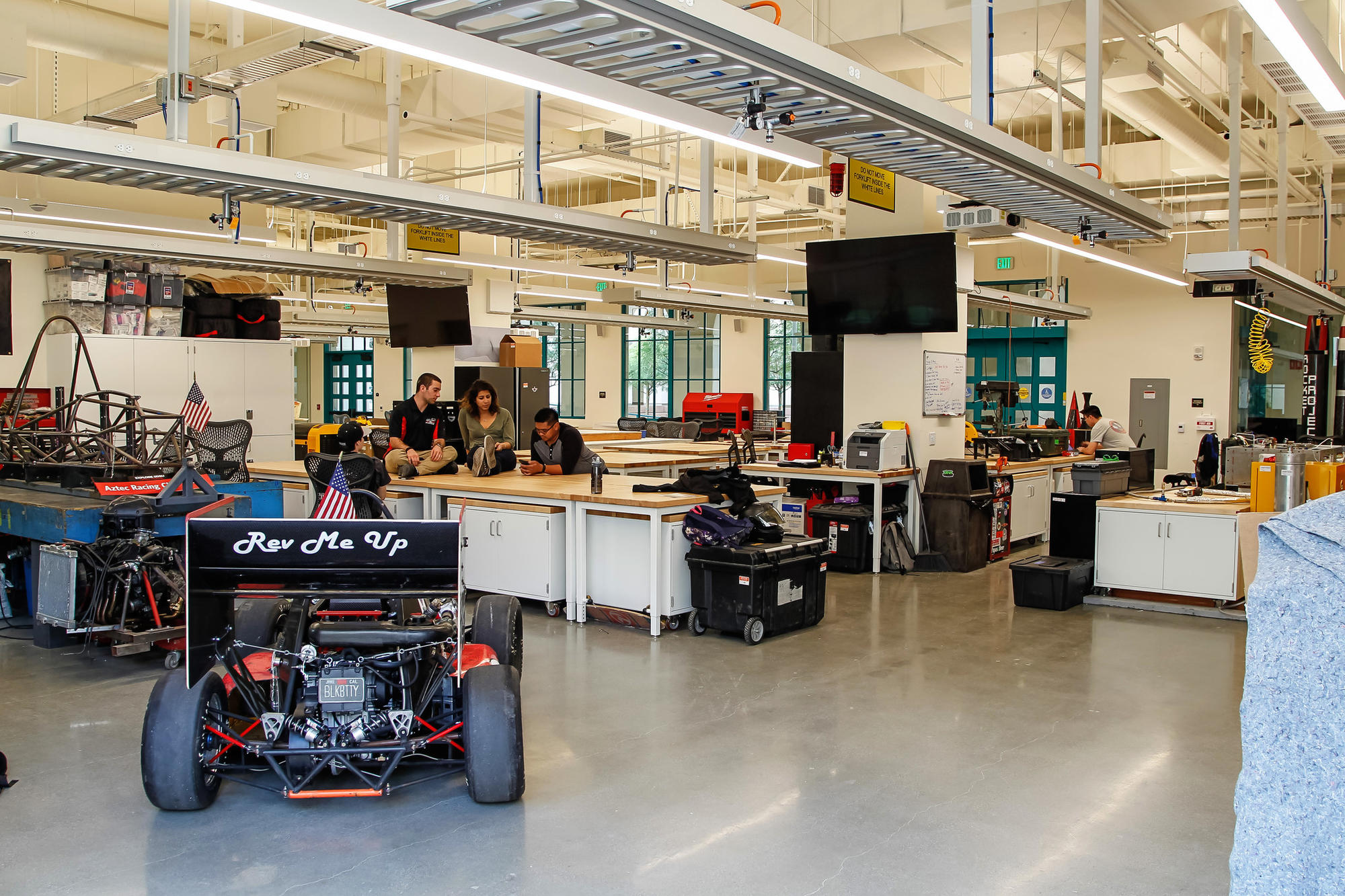 SAN DIEGO, CA January 16th, 2018   This is one of the labs at the new $90 million Engineering and In