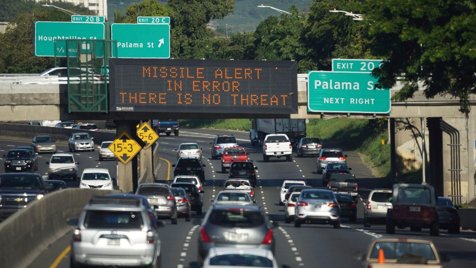 The good news about Hawaii's false alarm