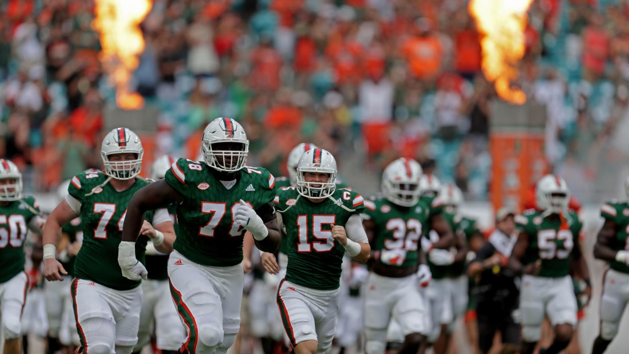 Breaking Down The Miami Hurricanes 2018 Football Schedule Sun