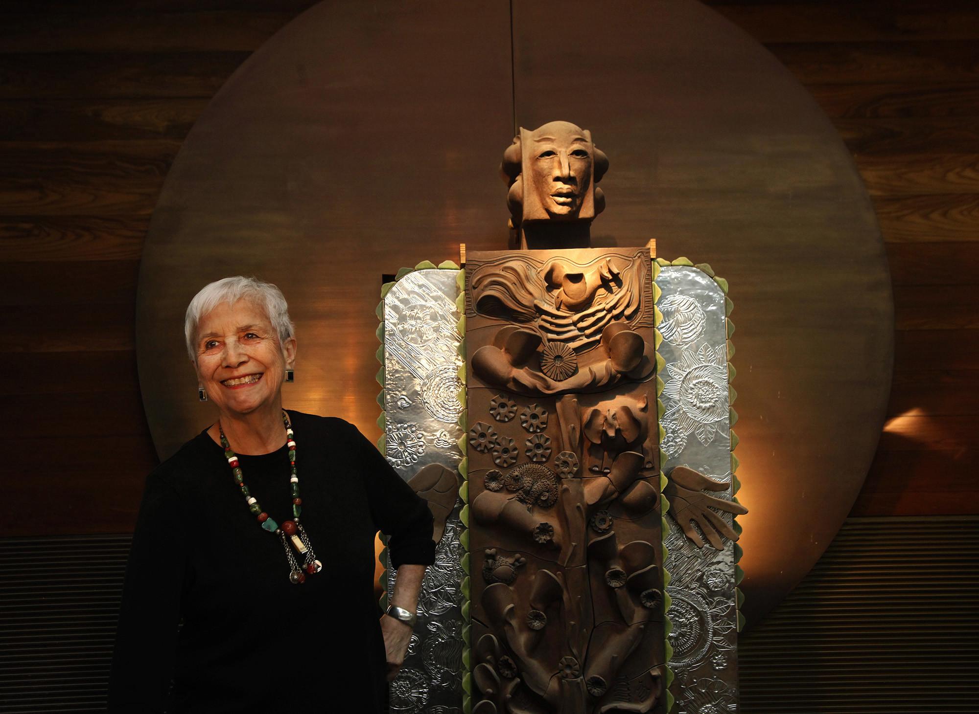Ceramic artist Dora De Larios