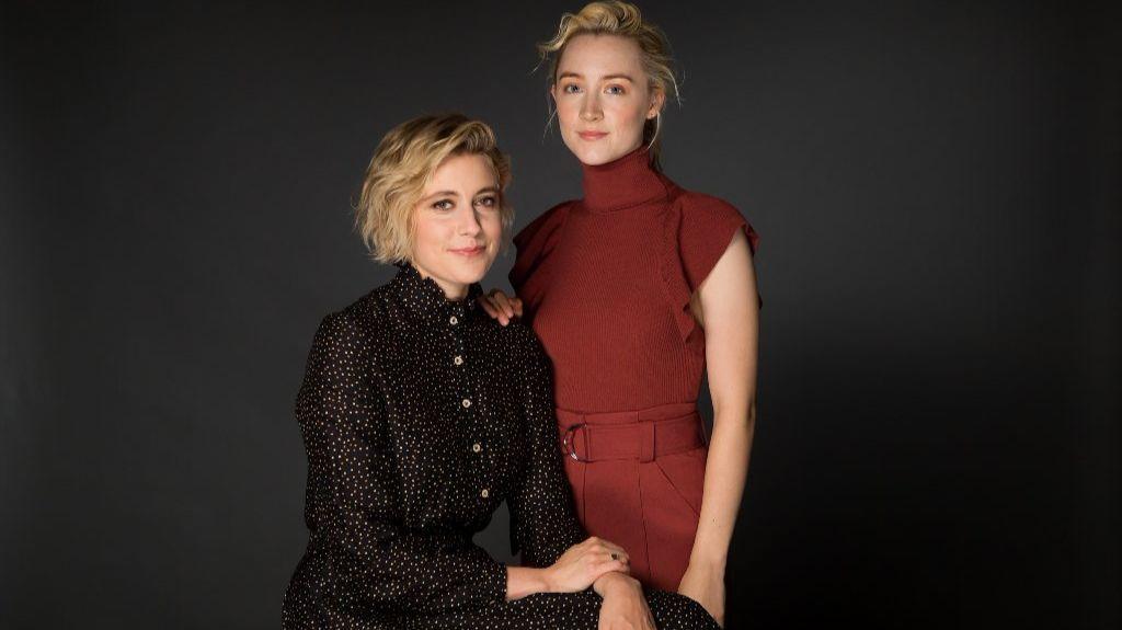 Greta Gerwig and Saoirse Ronan.