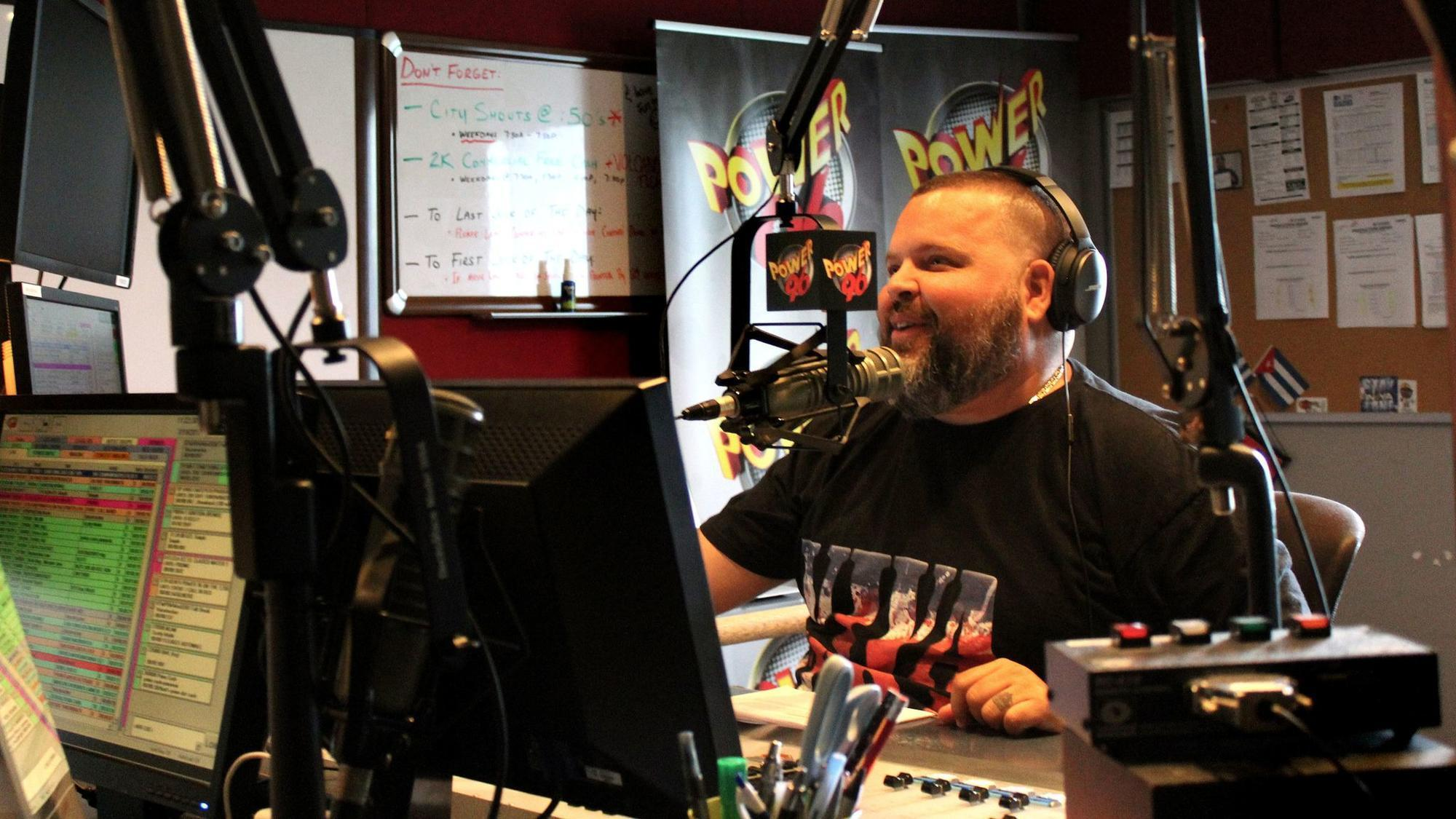 Where is JP from the Power 96 Morning Show? - Sun Sentinel
