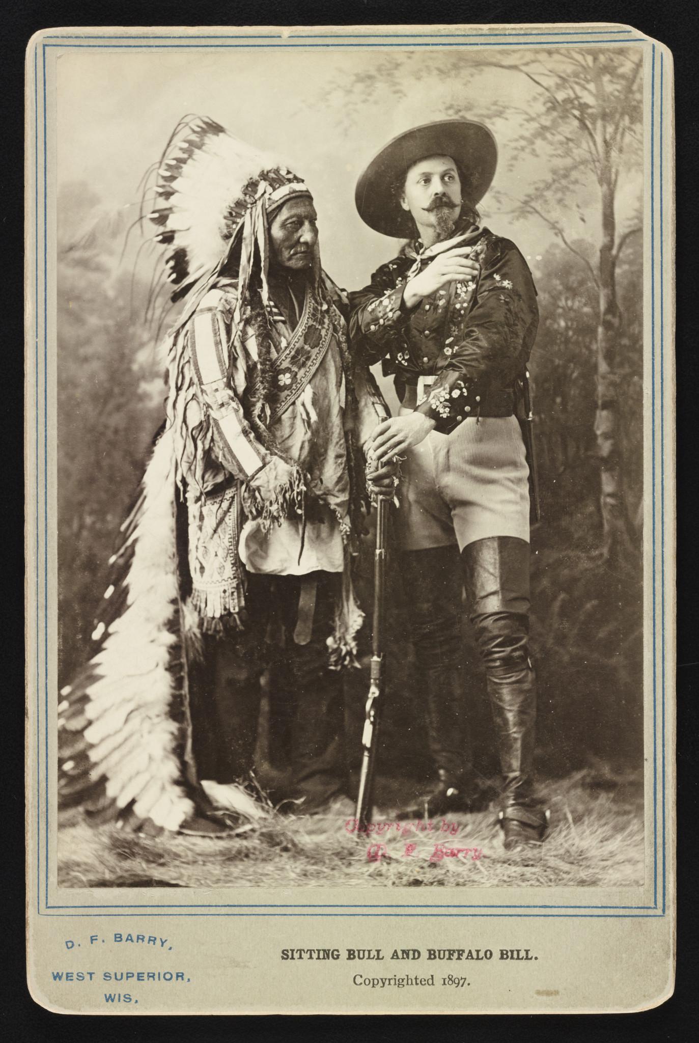 Sitting Bull and Buffalo Bill