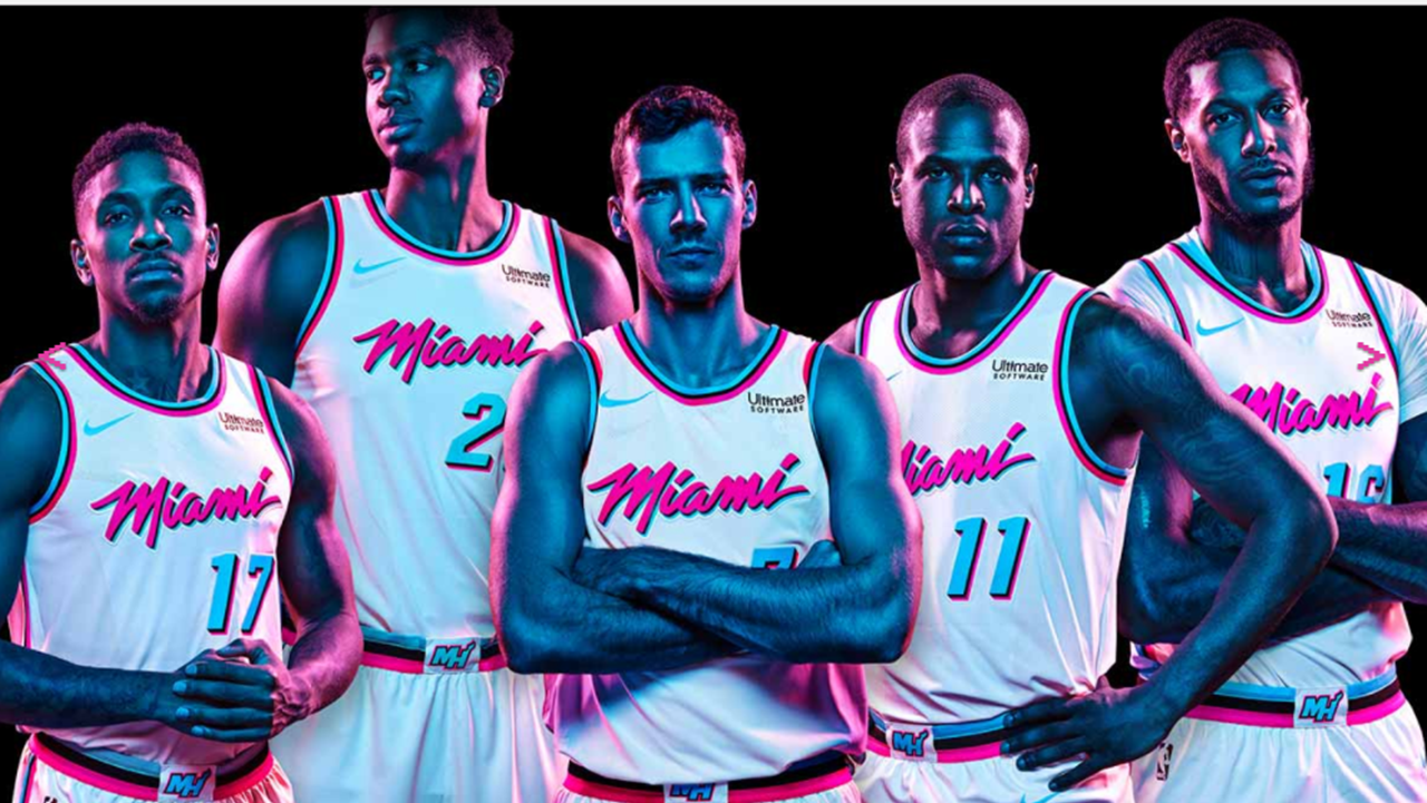 Step aside Crockett, Tubbs, Heat's 'Vice' uniforms are out ...