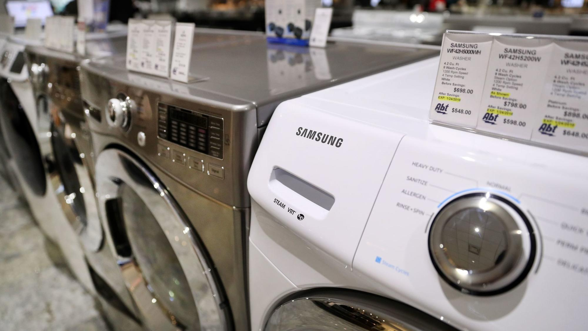 Why The Imported Washing Machine You Want Is Getting More