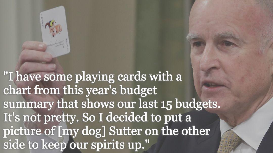 Gov. Jerry Brown 2014