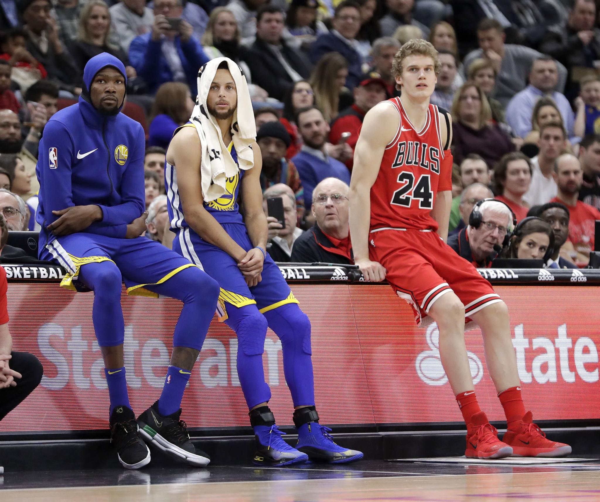 Bulls shut out of NBA All-Star Game  Warriors c6a28c667a