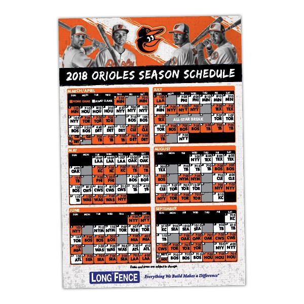 Baltimore orioles schedule 2019 giveaways