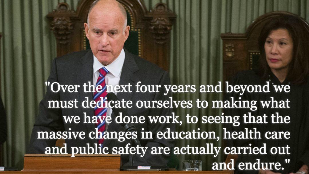 Gov. Jerry Brown 2015