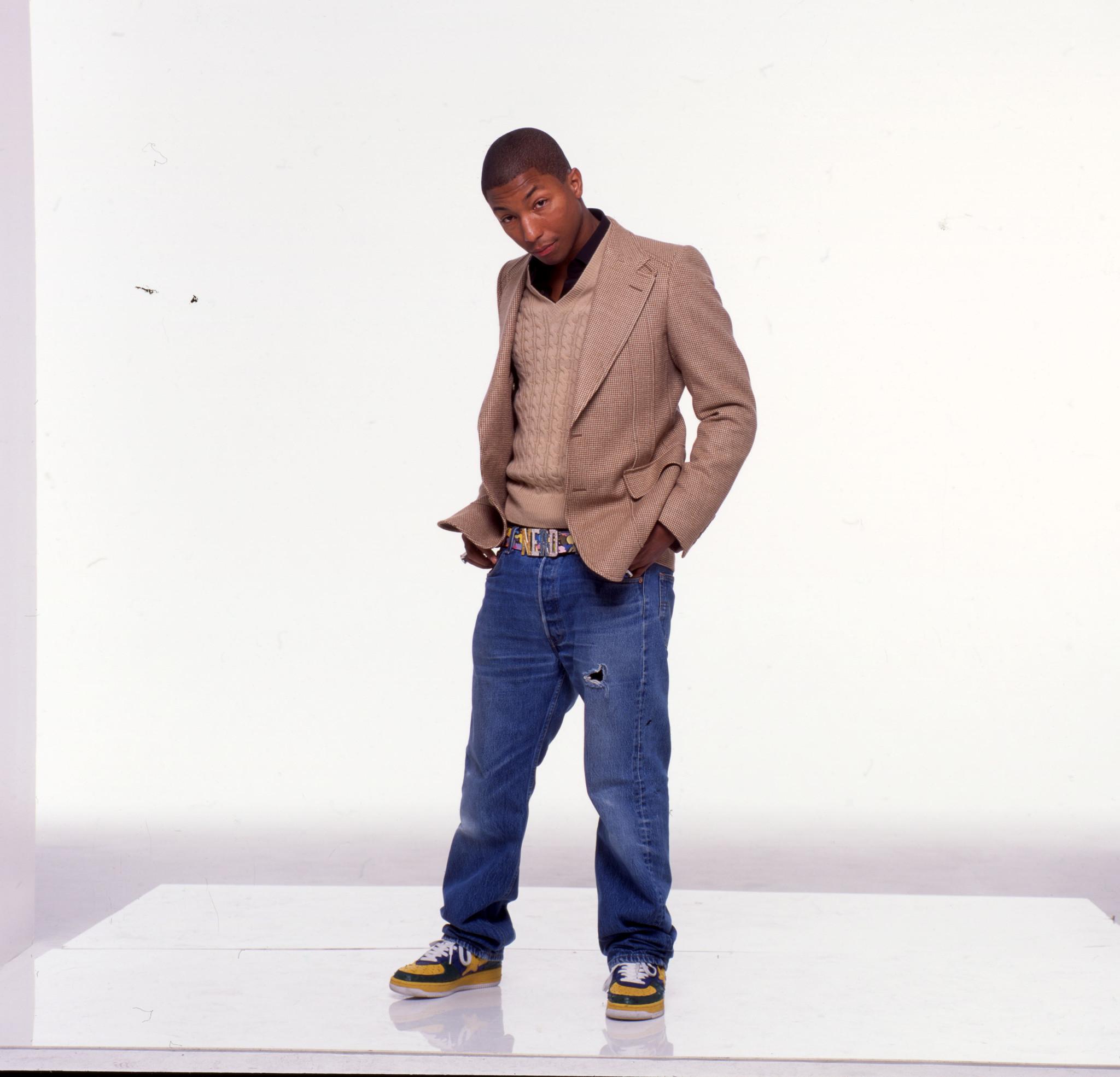 Portrait Of Pharrell Williams