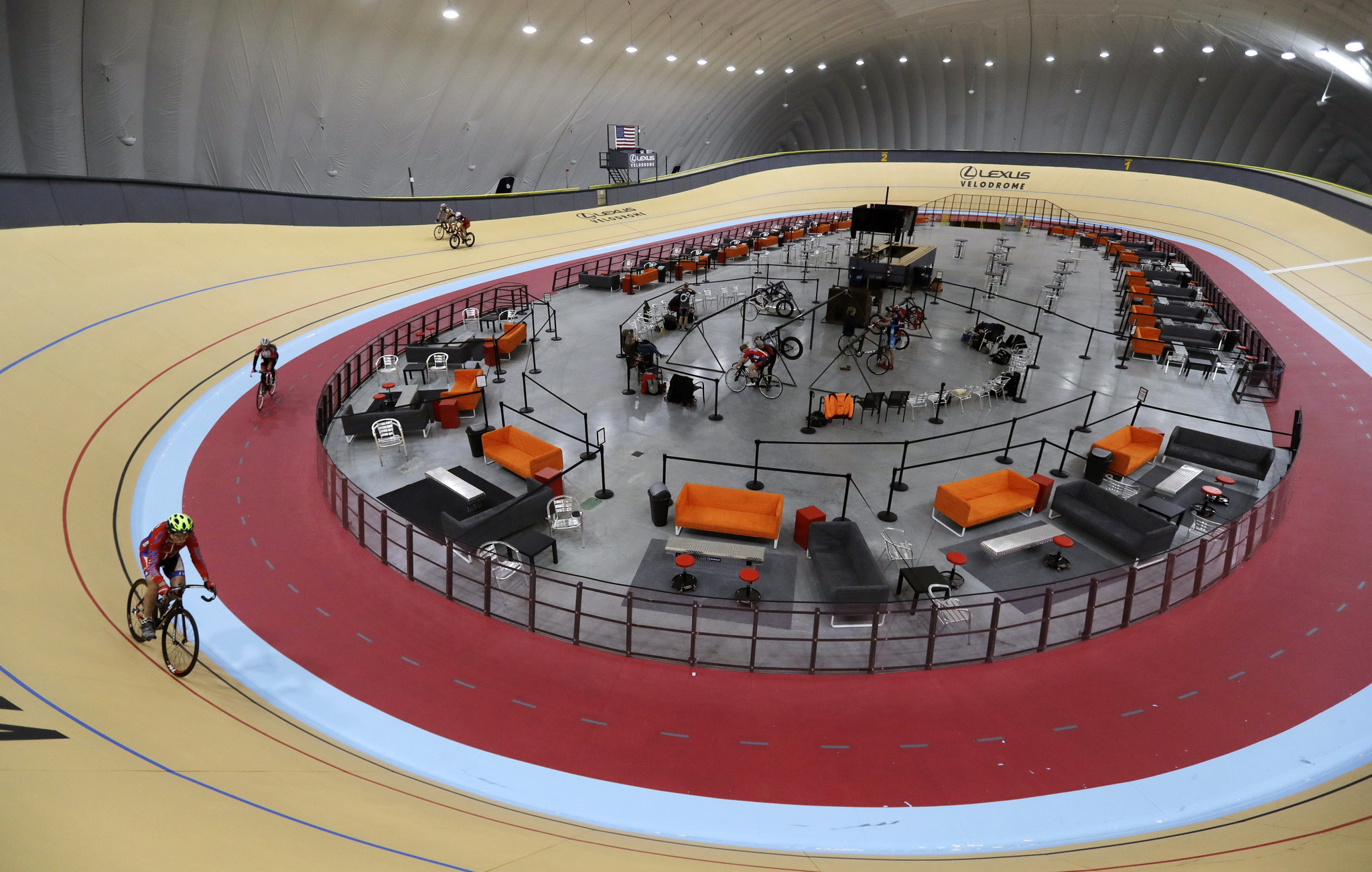 Lexus Los Angeles >> Indoor velodrome expected to draw cyclists to Detroit ...