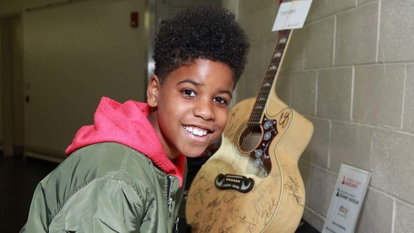 The kid who performed with Childish Gambino at the Grammys ...