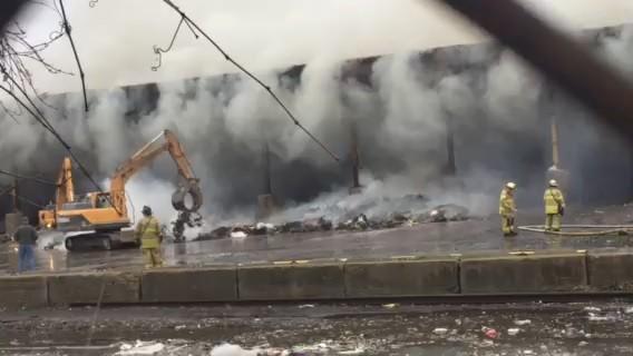 "The Hartford At Work >> Willimantic Waste Fire ""Under Control,"" Still Smoldering ..."