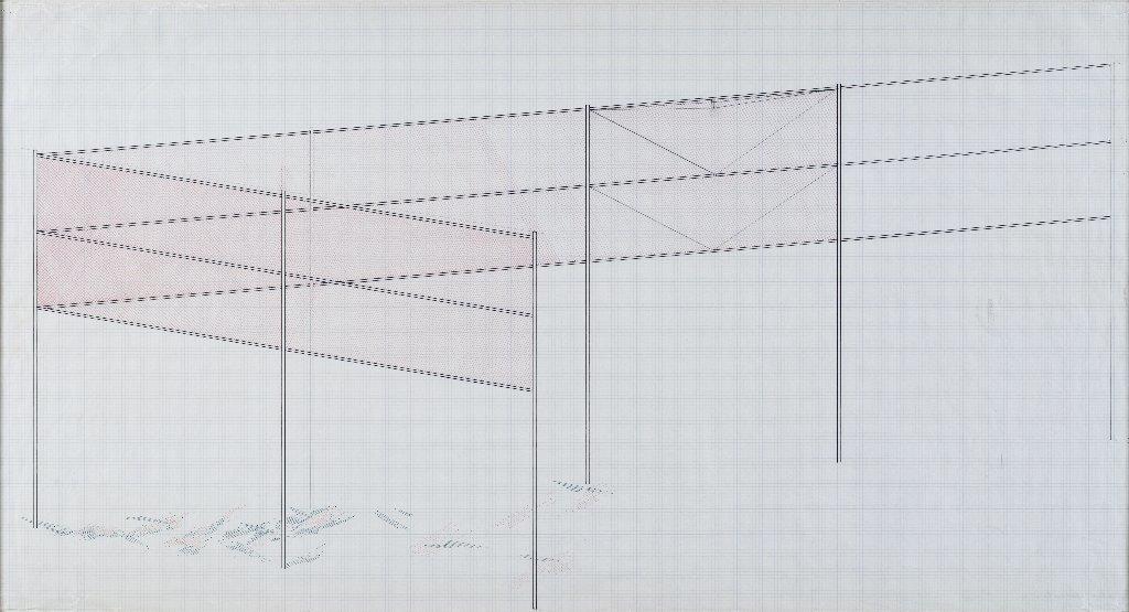 "Robert Irwin, ""Two Running Violet V Forms"" (1982)"