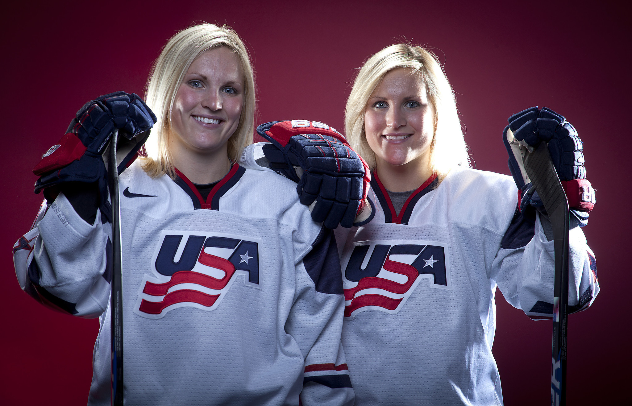 Monique Lamoureux, Jocelyn Lamoureux feared being cut from US womens hockey team pics