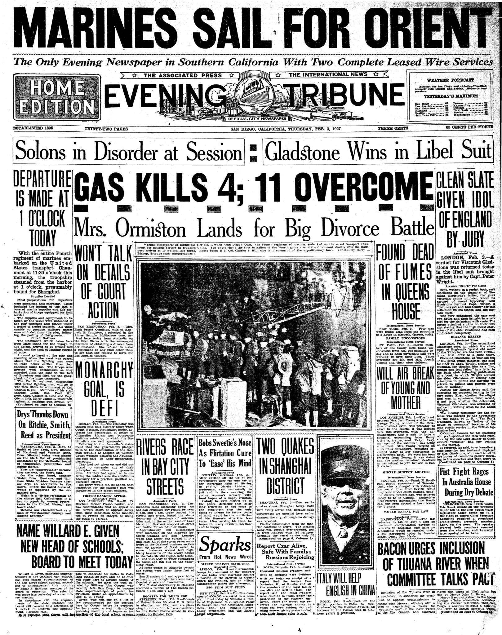 February 3, 1927