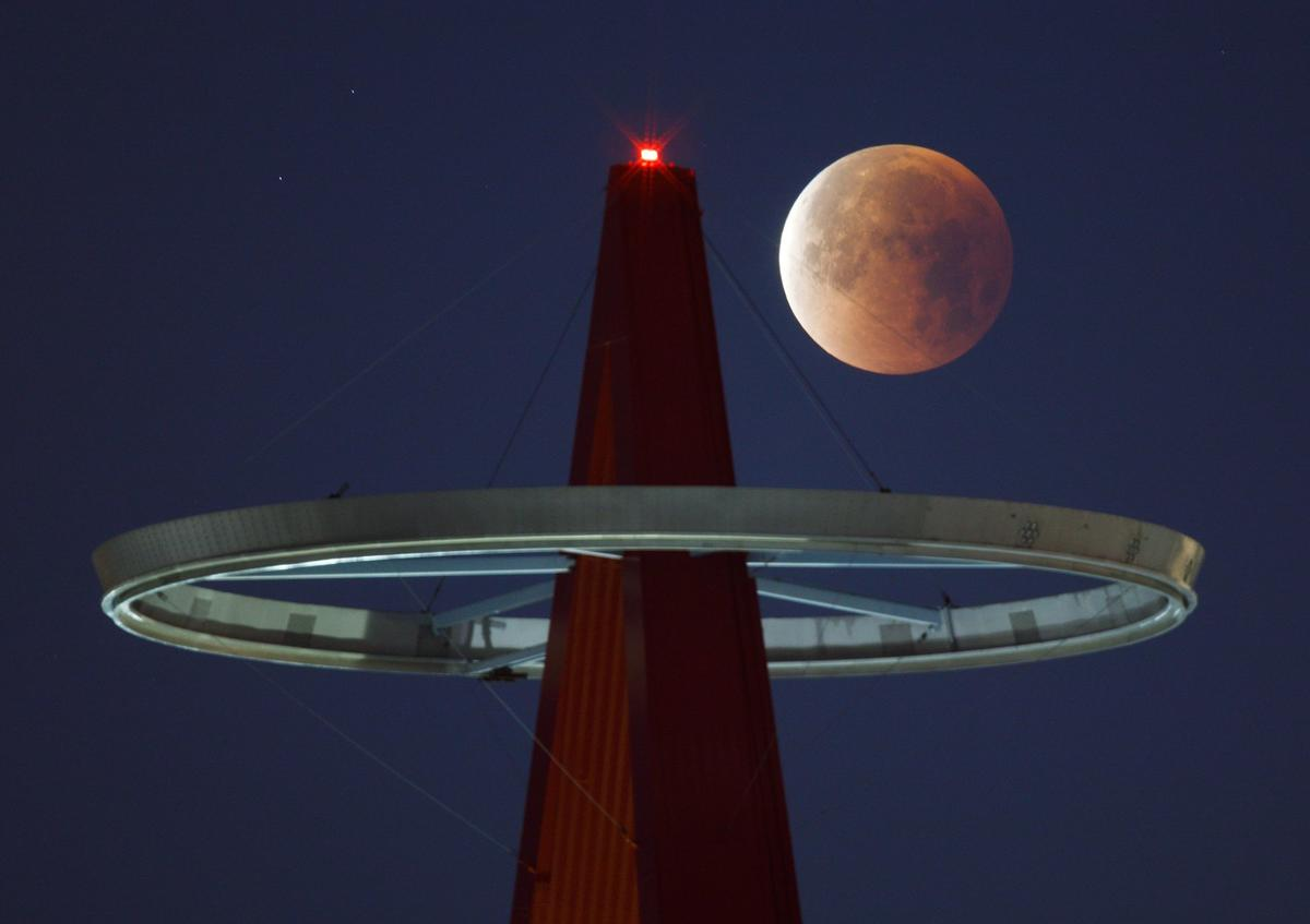 blood moon eclipse in los angeles - photo #26