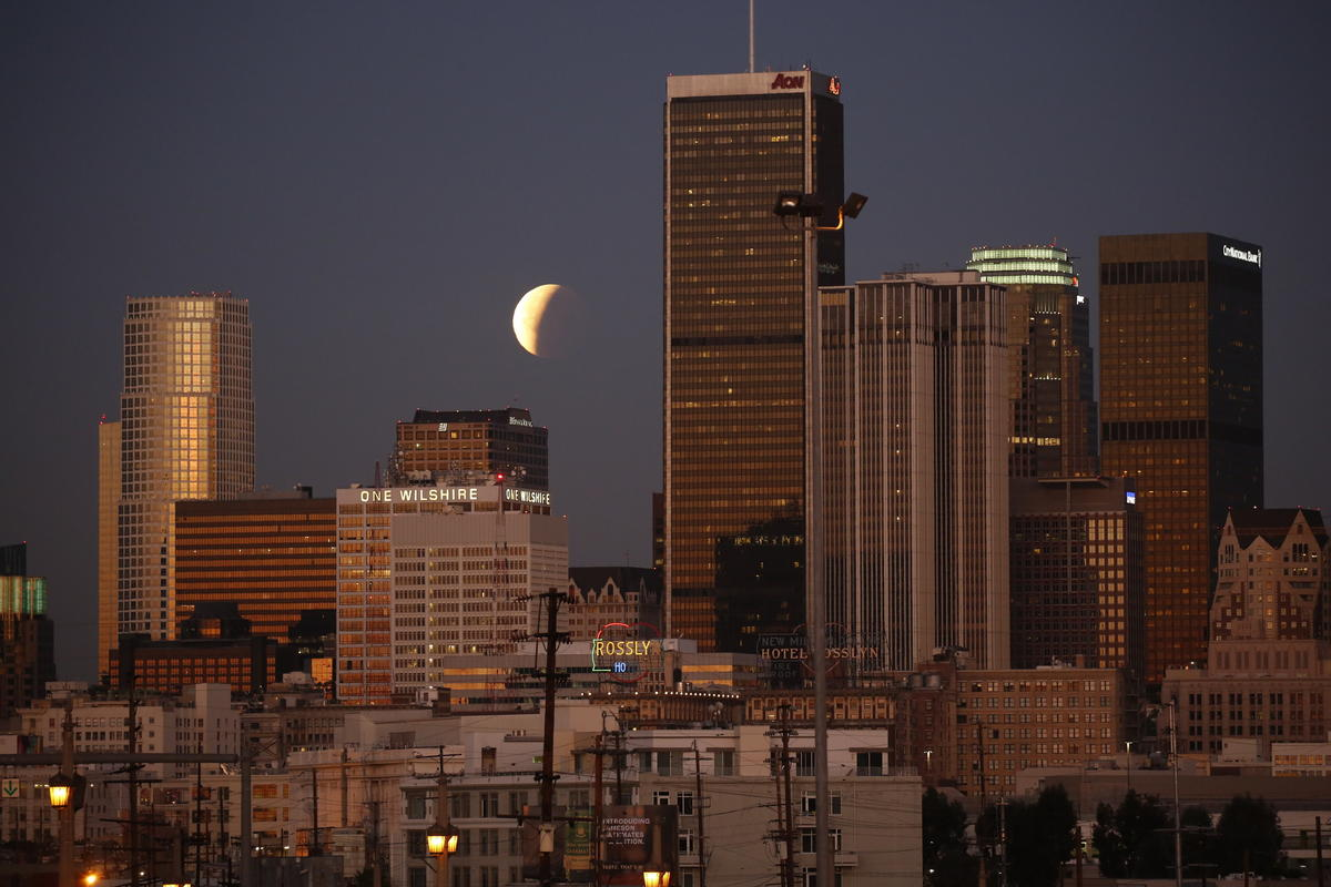blood moon eclipse in los angeles - photo #31