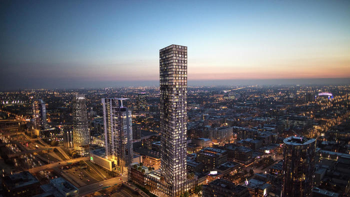 Two 50-Story Residential Towers Could Weigh on Fulton Market