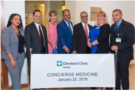 Cleveland Clinic Florida Celebrates Opening of Concierge