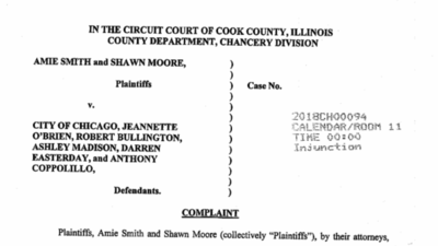 Homeless couple's lawsuit vs. City of Chicago