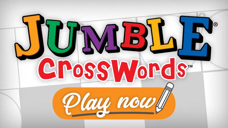 Daily Jumble Crossword Capital Gazette