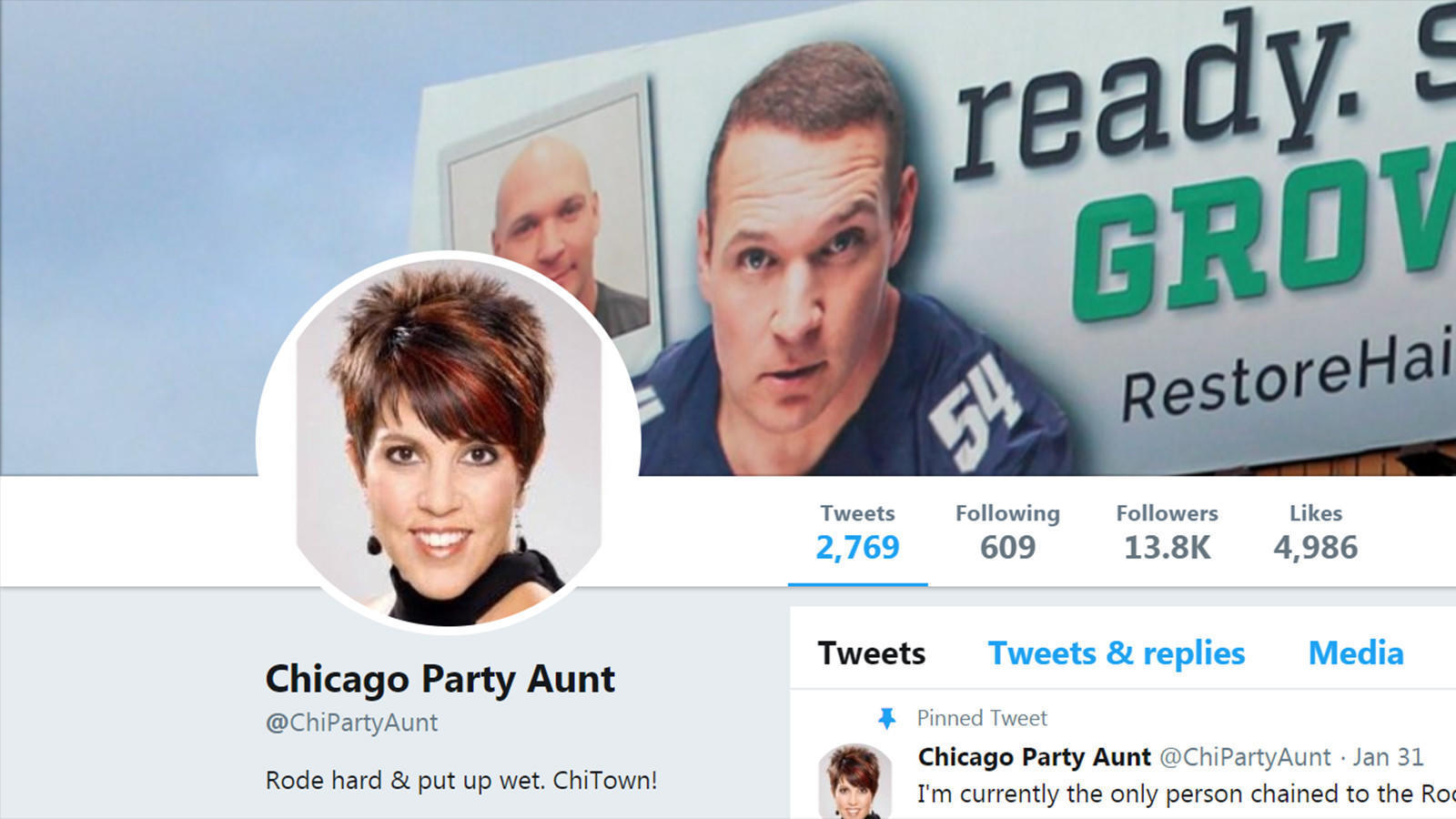 we ve tracked down twitter s mysterious chicago party aunt chicago