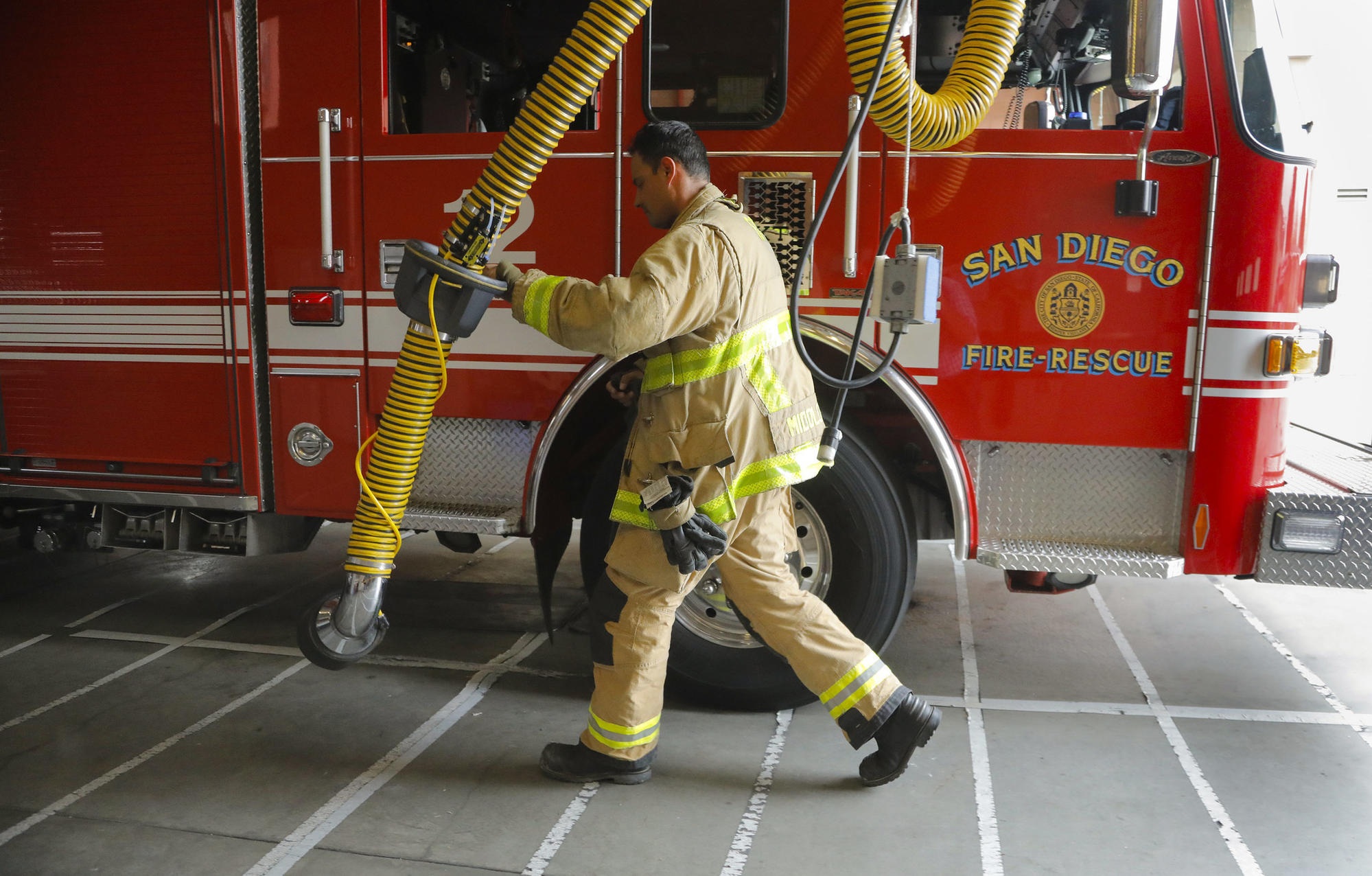 Firefighters fight risk of cancer