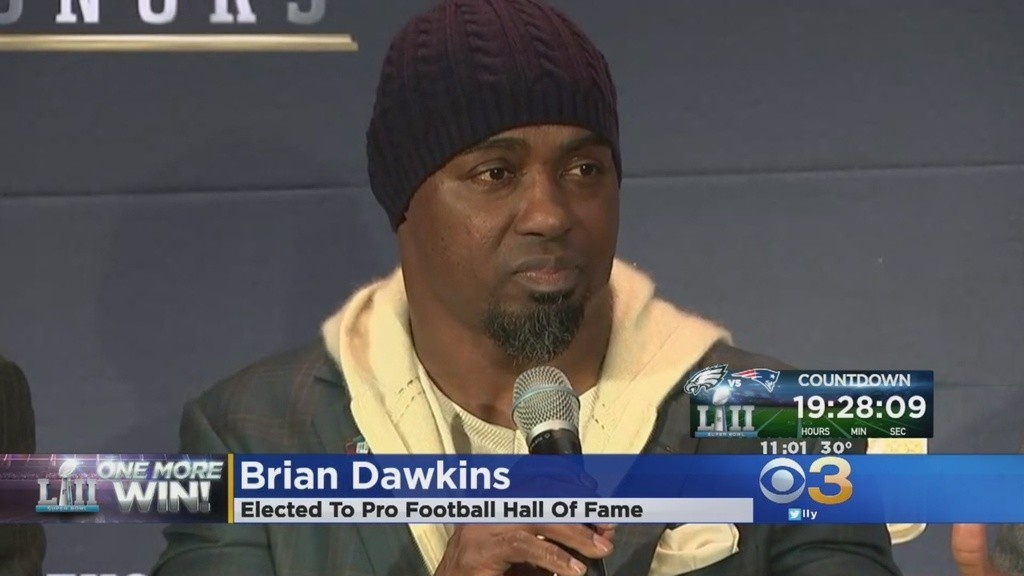 b6e37507e8d Brian Dawkins reacts to Hall Of Fame induction - Hartford Courant