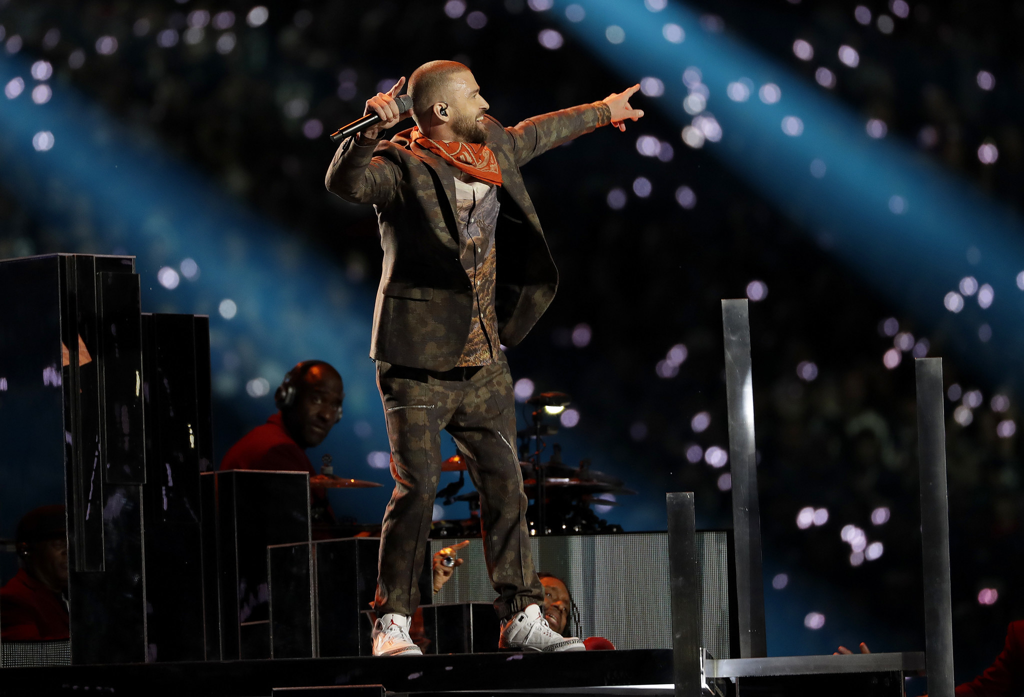 See Photos With 2018 Photos: Photos: Justin Timberlake Super Bowl 2018 Halftime Show