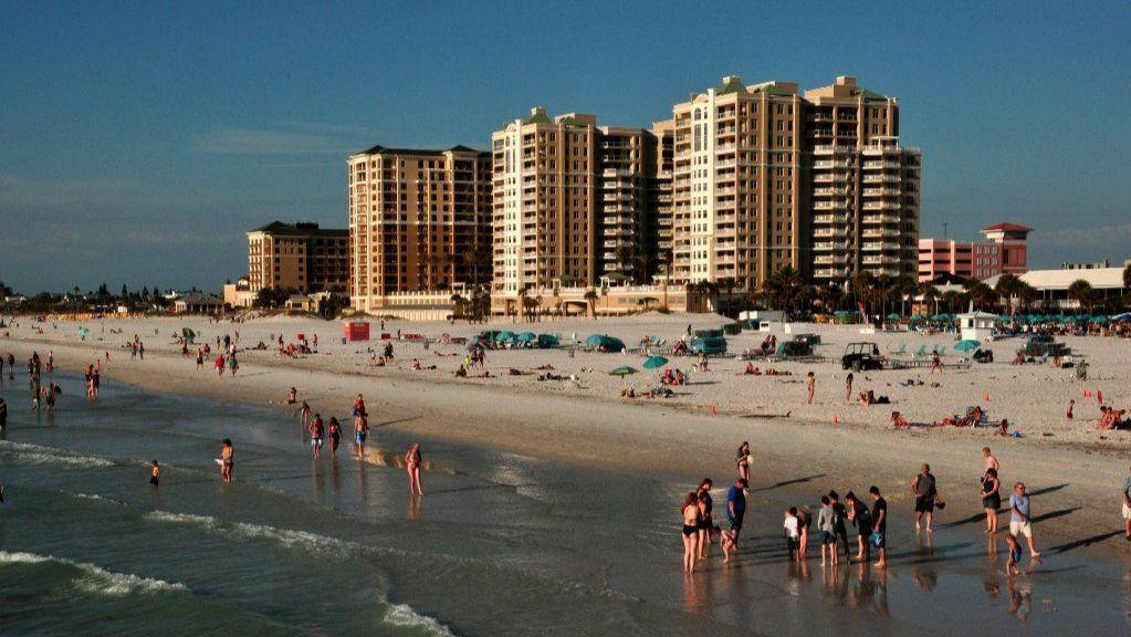 Florida S Pinellas County Beaches Offer Stretch Of Sand