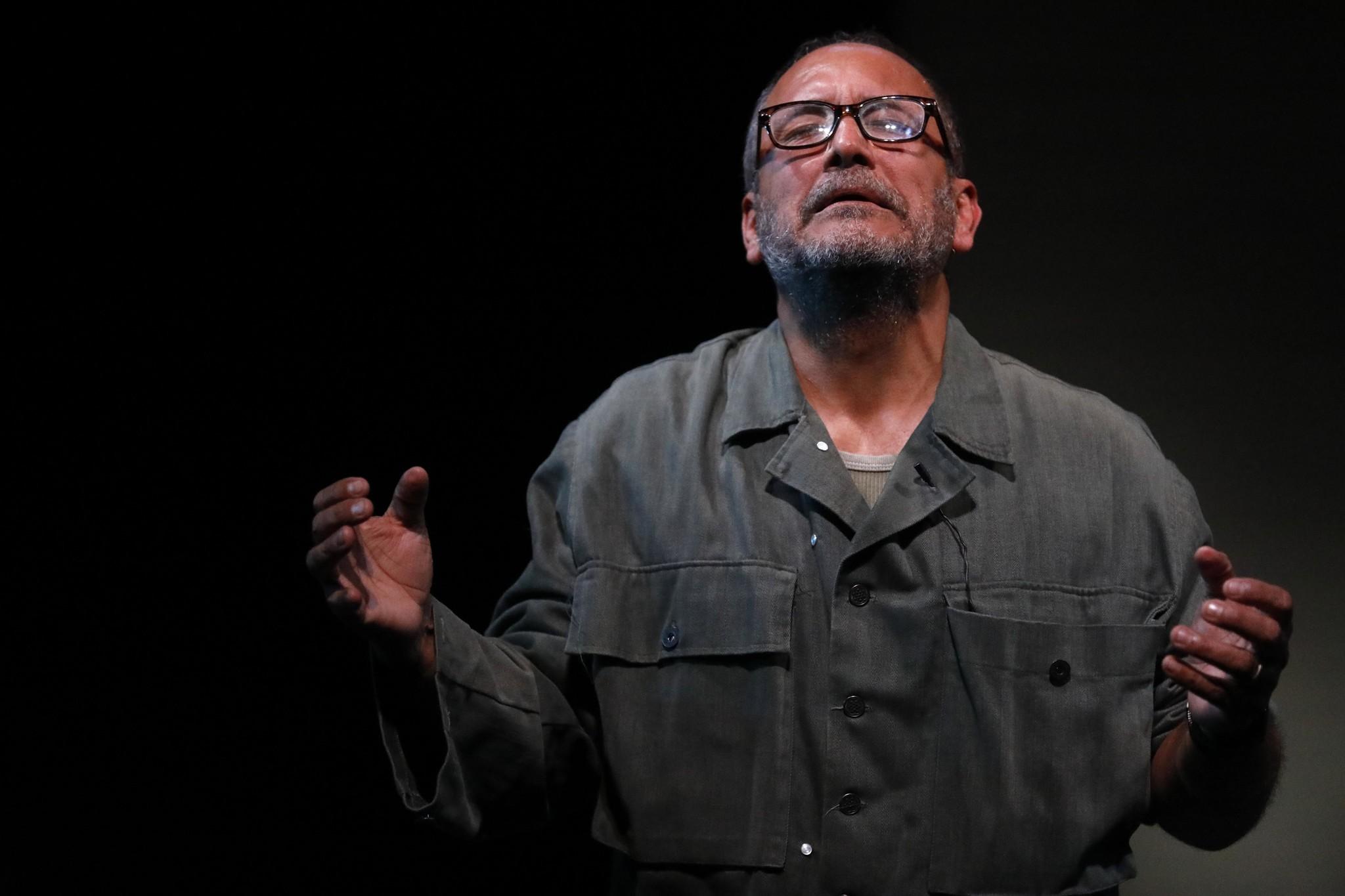 CULVER CITY, CA - JANAUARY 26, 2018 - Ruben Garfias, as Grandpop, performs in Pulitzer Prize winning