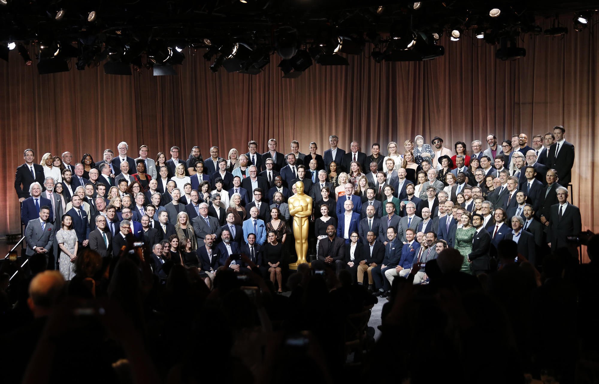 For Oscar nominees, it's time to dine