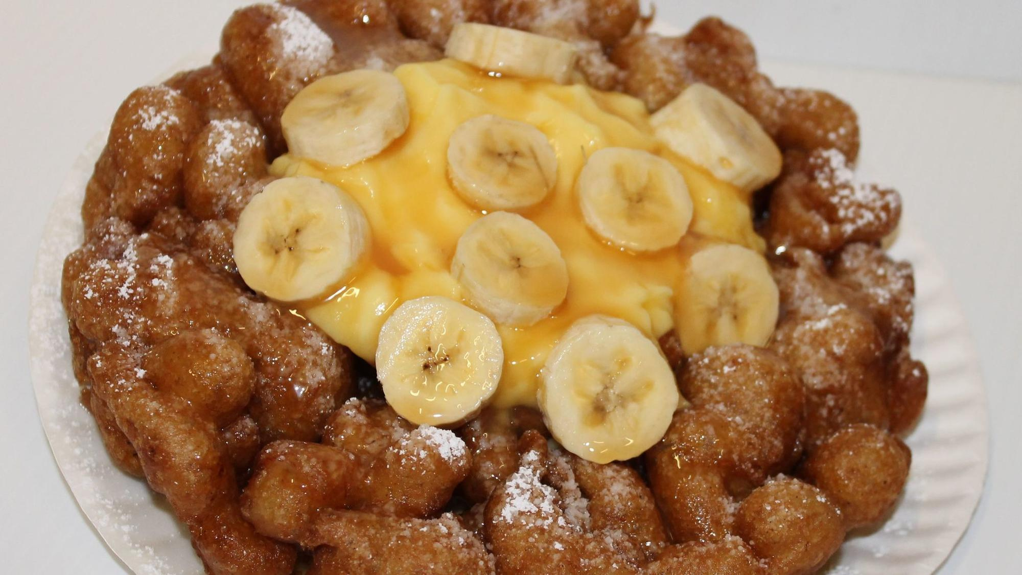 Funnel Cake Waffle Recipe