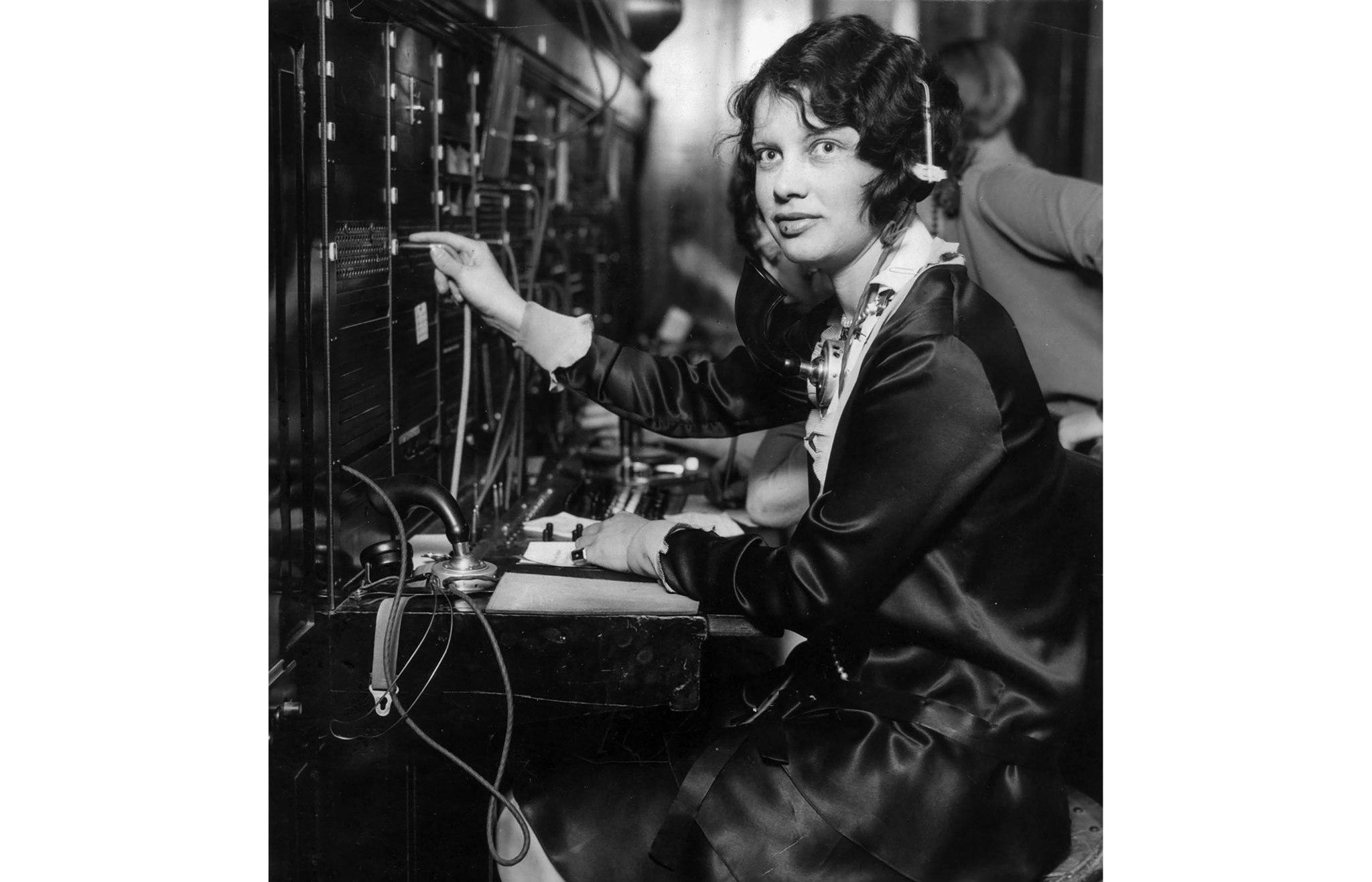 March 14, 1928: Telephone operator Louise Gipe at Santa Paula warned area residents of the failure o