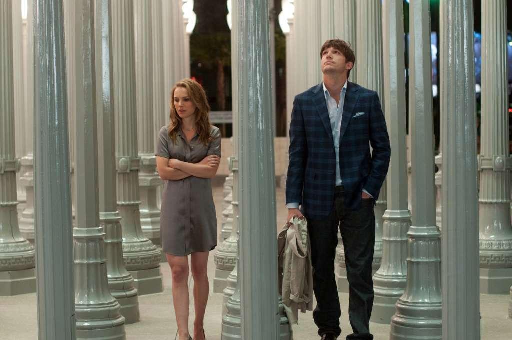 Natalie Portman plays Emma and Ashton Kutcher plays Adam in the movie