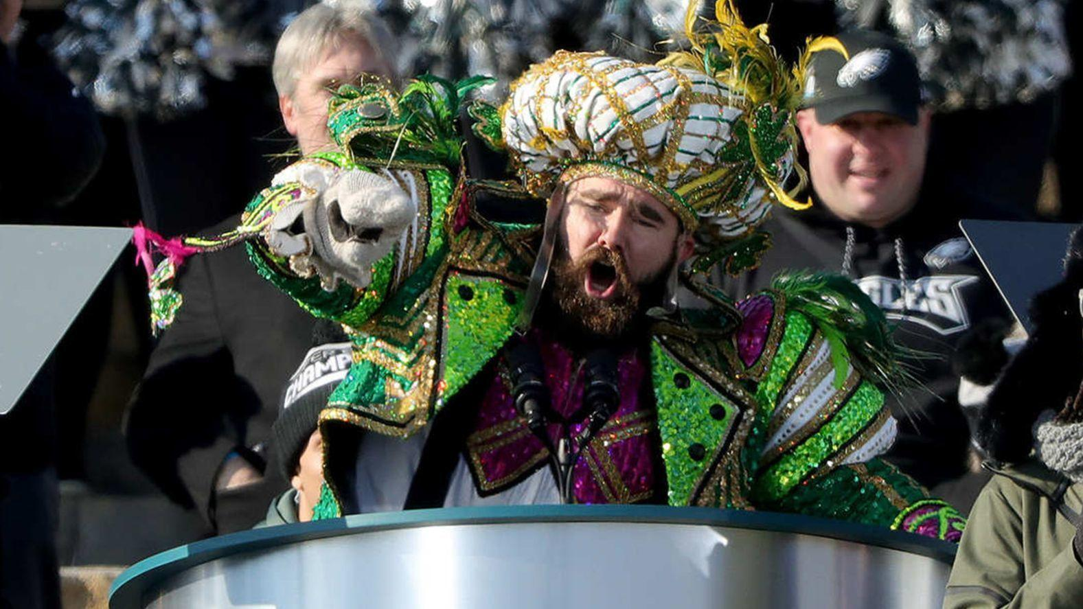 Jason Kelce s epic speech at the Philadelphia Eagles Super Bowl parade  (Read the transcript) - The Morning Call d2df4d495