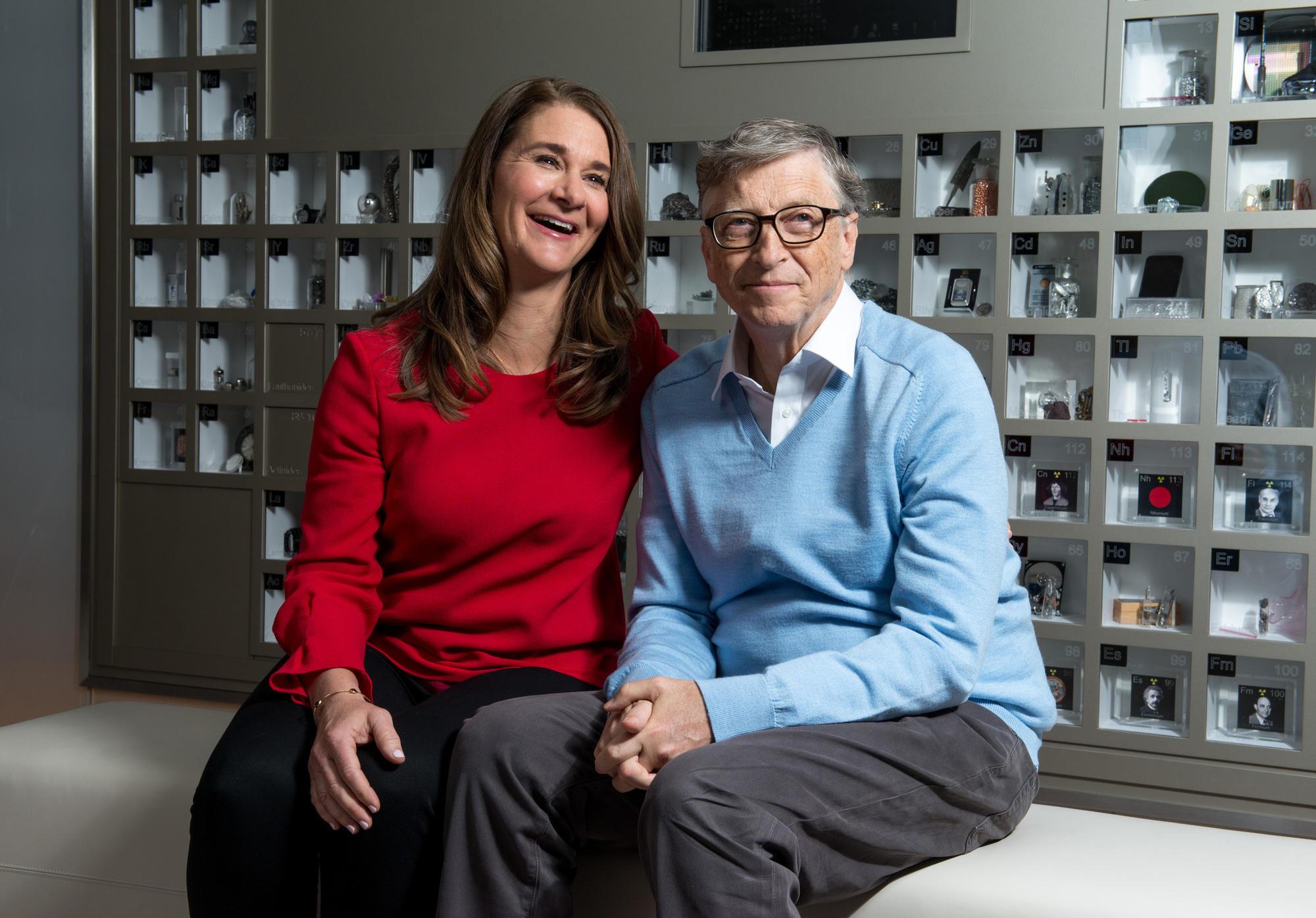 Bill Melinda Gates Turn Attention Toward Poverty In America