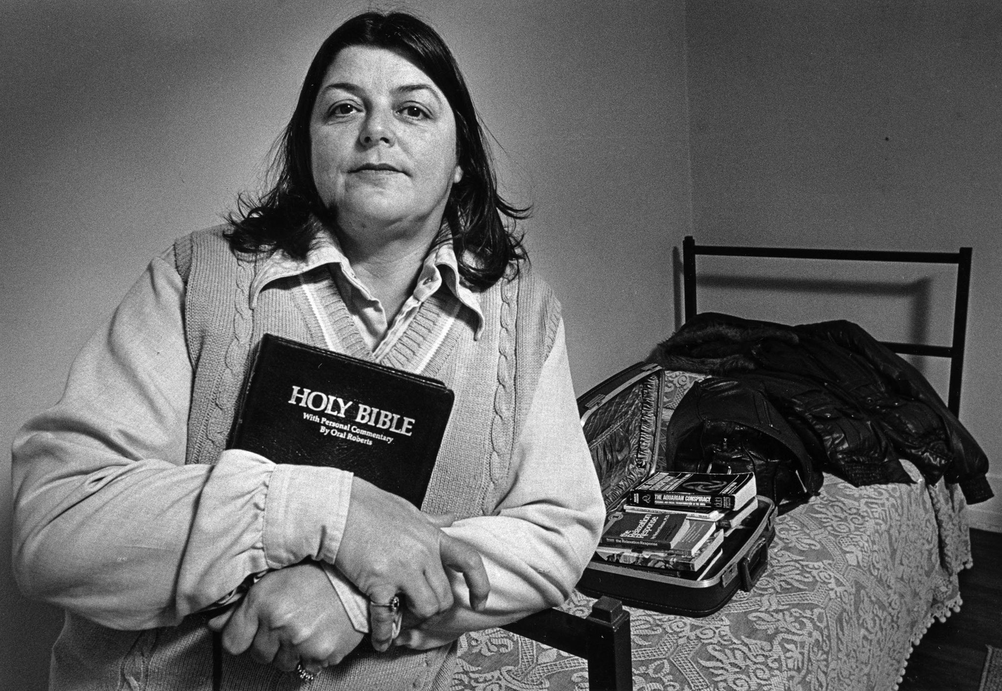 Jan. 12, 1987: Elizabeth Presley, 46, has been homeless for two years. She says that her religious f