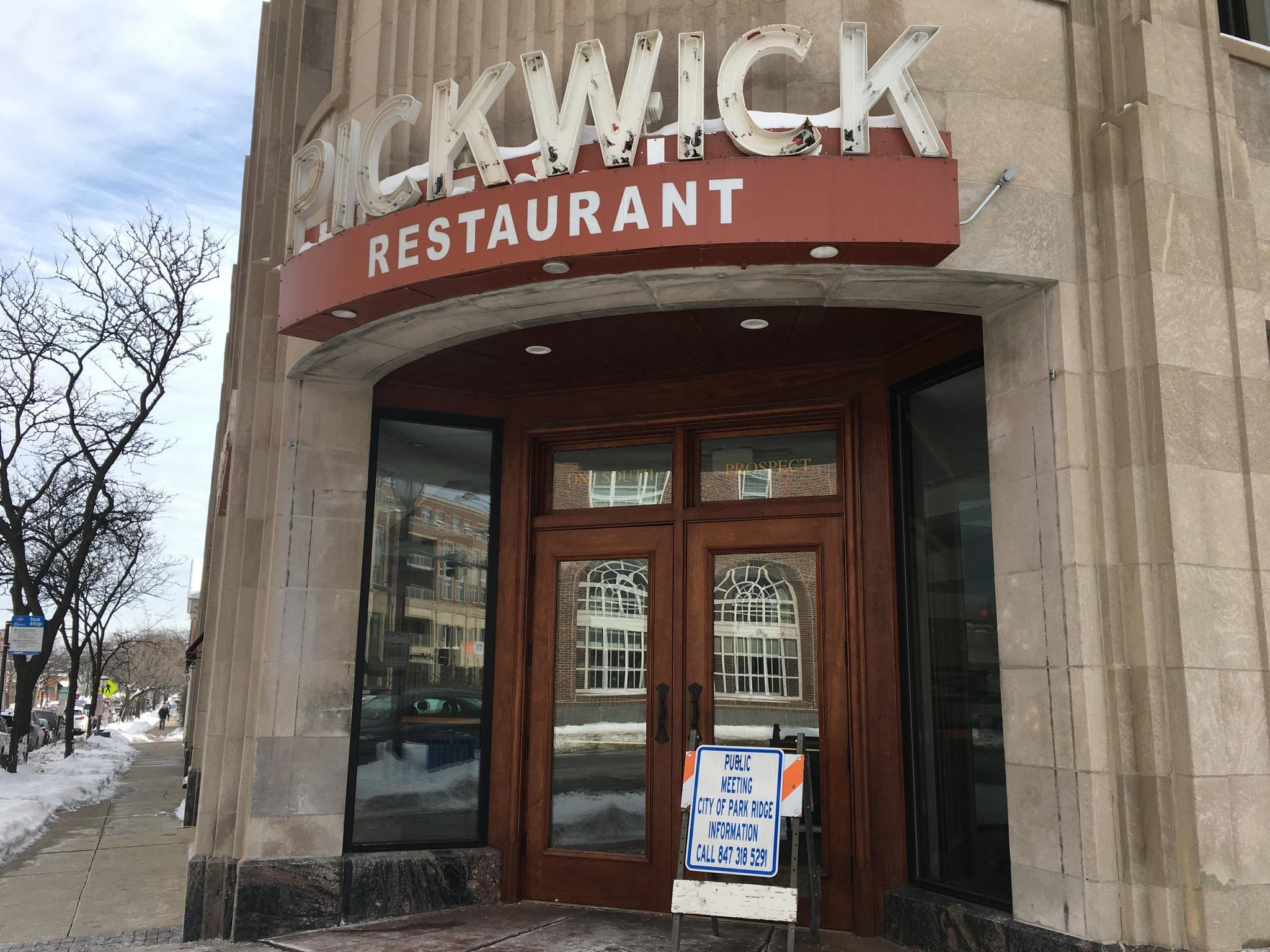 Eye Care Chain Proposed For Former Pickwick Restaurant In Park Ridge Herald Advocate