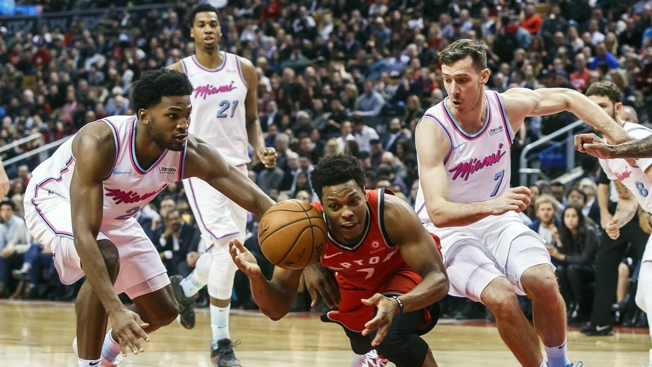 30fa96cd9 Goran Dragic s 28 not enough to hold off Raptors in 115-112 Heat loss