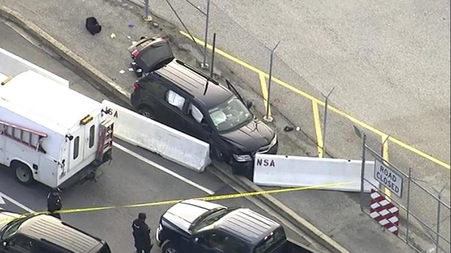 One injured in shooting at Fort Meade, SUV stopped at security gate