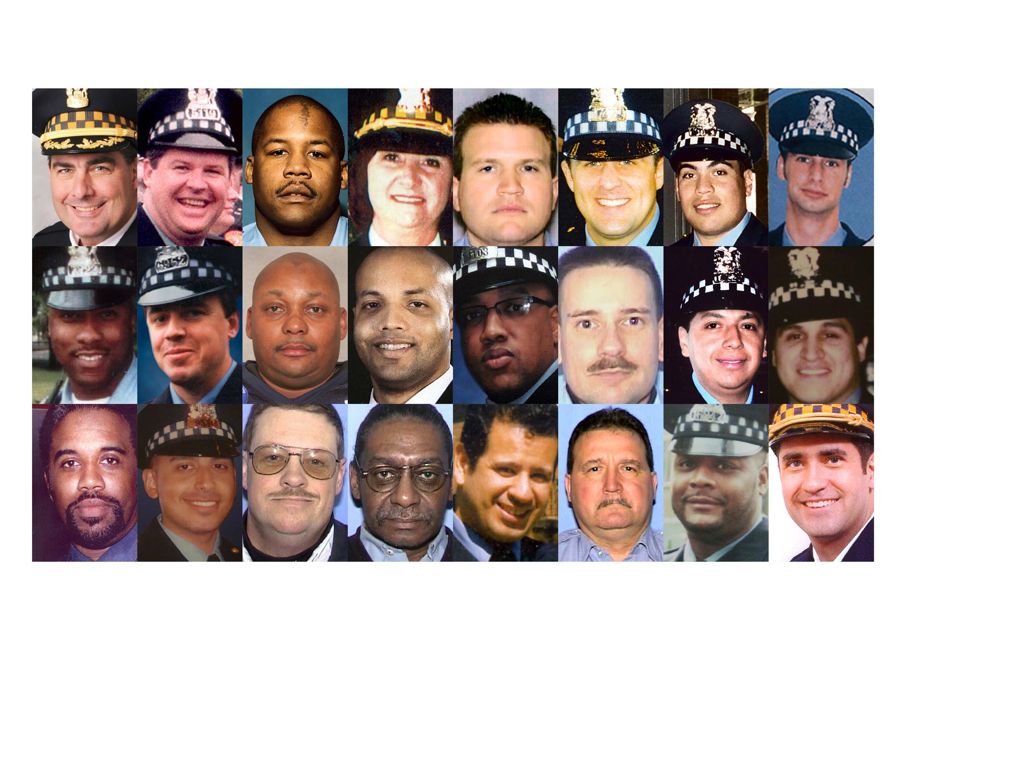 Fallen Chicago Police Officers Chicago Tribune