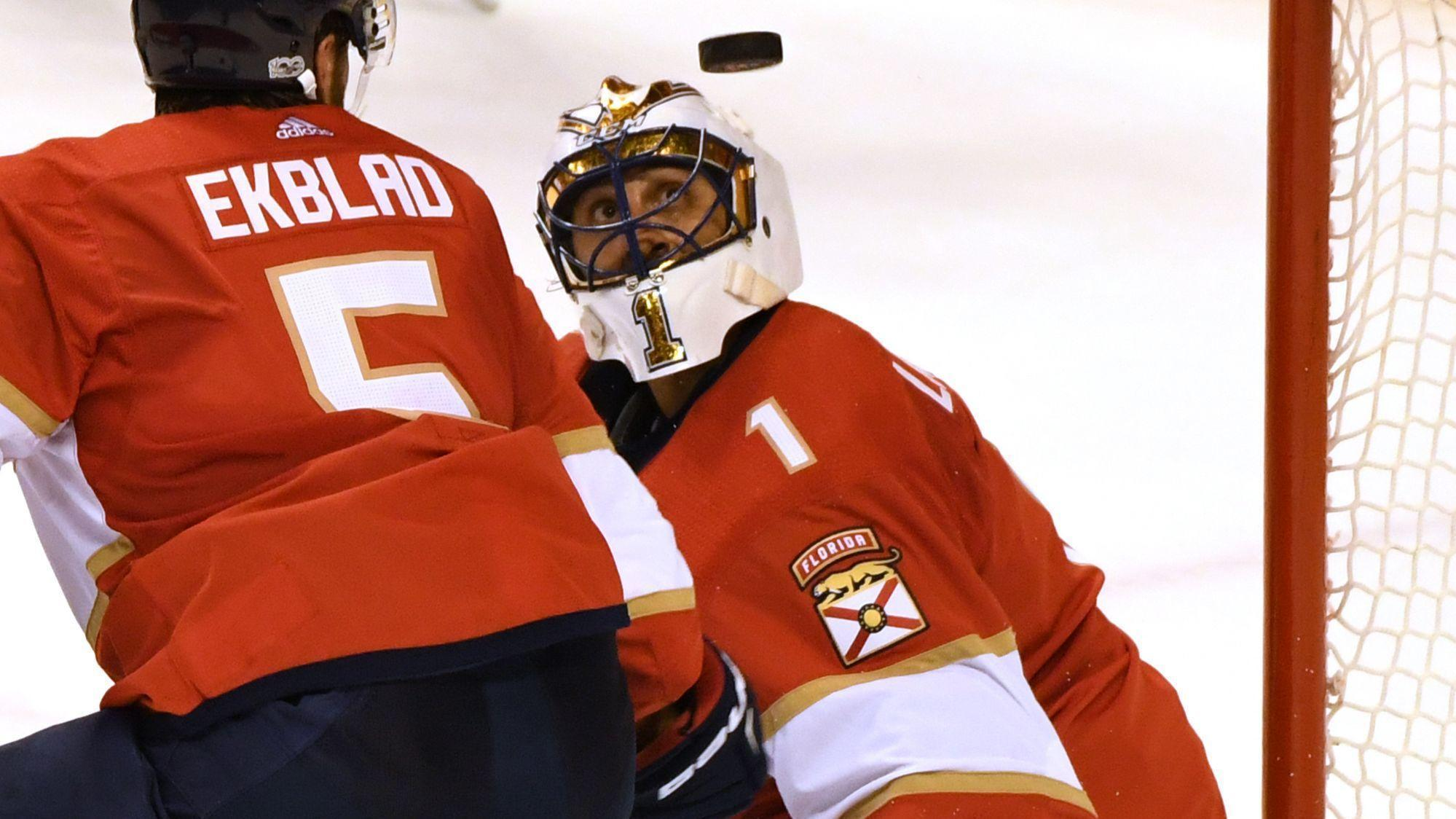 2b9ad1e937f Panthers activate goalie Roberto Luongo from injured reserve - Sun Sentinel