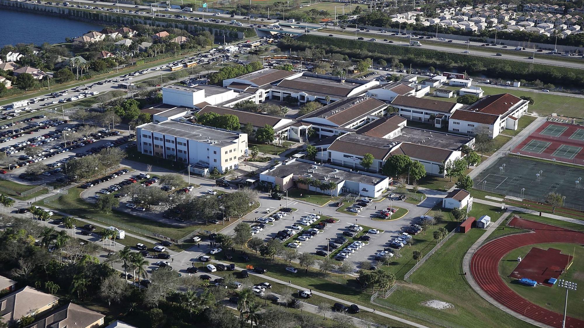 Parkland Campus Map.Marjory Stoneman Douglas High School In Parkland Facts About The