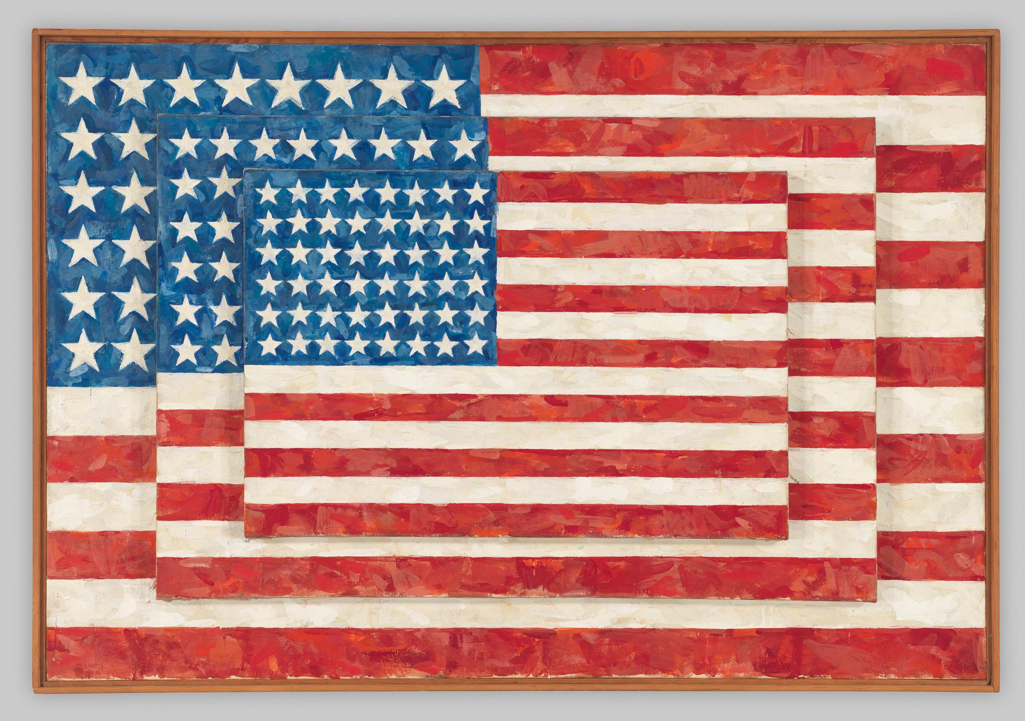 Jasper Johns Three Flags